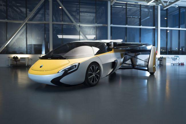 Новый летающий автомобиль