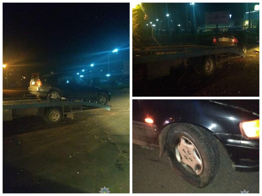 Автомобиль пострадал в результате пьяного вождения владельцами