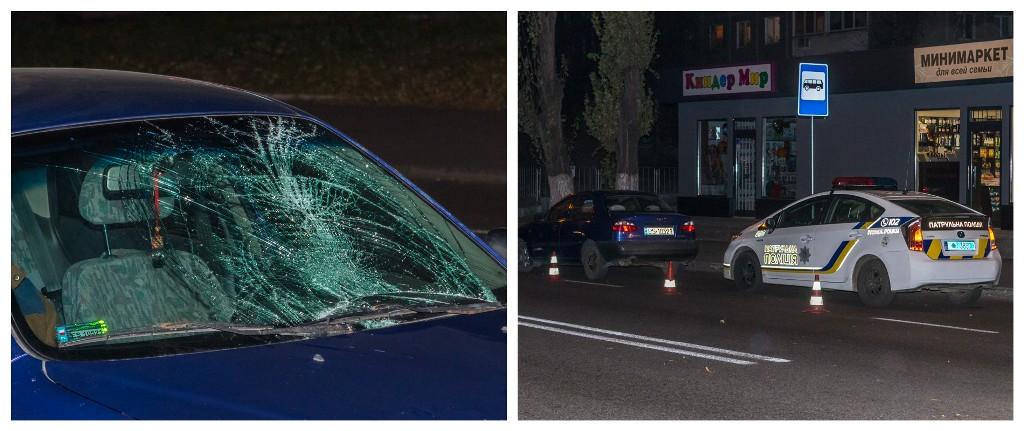 Водитель Daewoo сбил пешехода