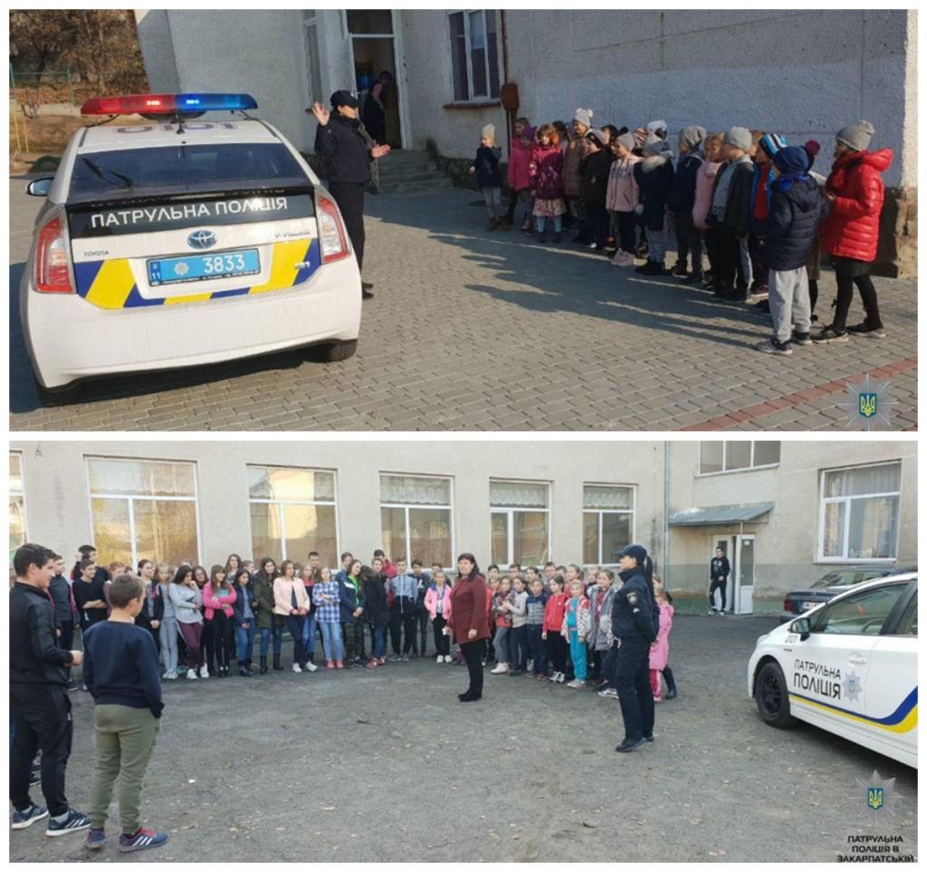 В рамках проекта патрульные рассказывали школьникам о необходимости соблюдения ПДД