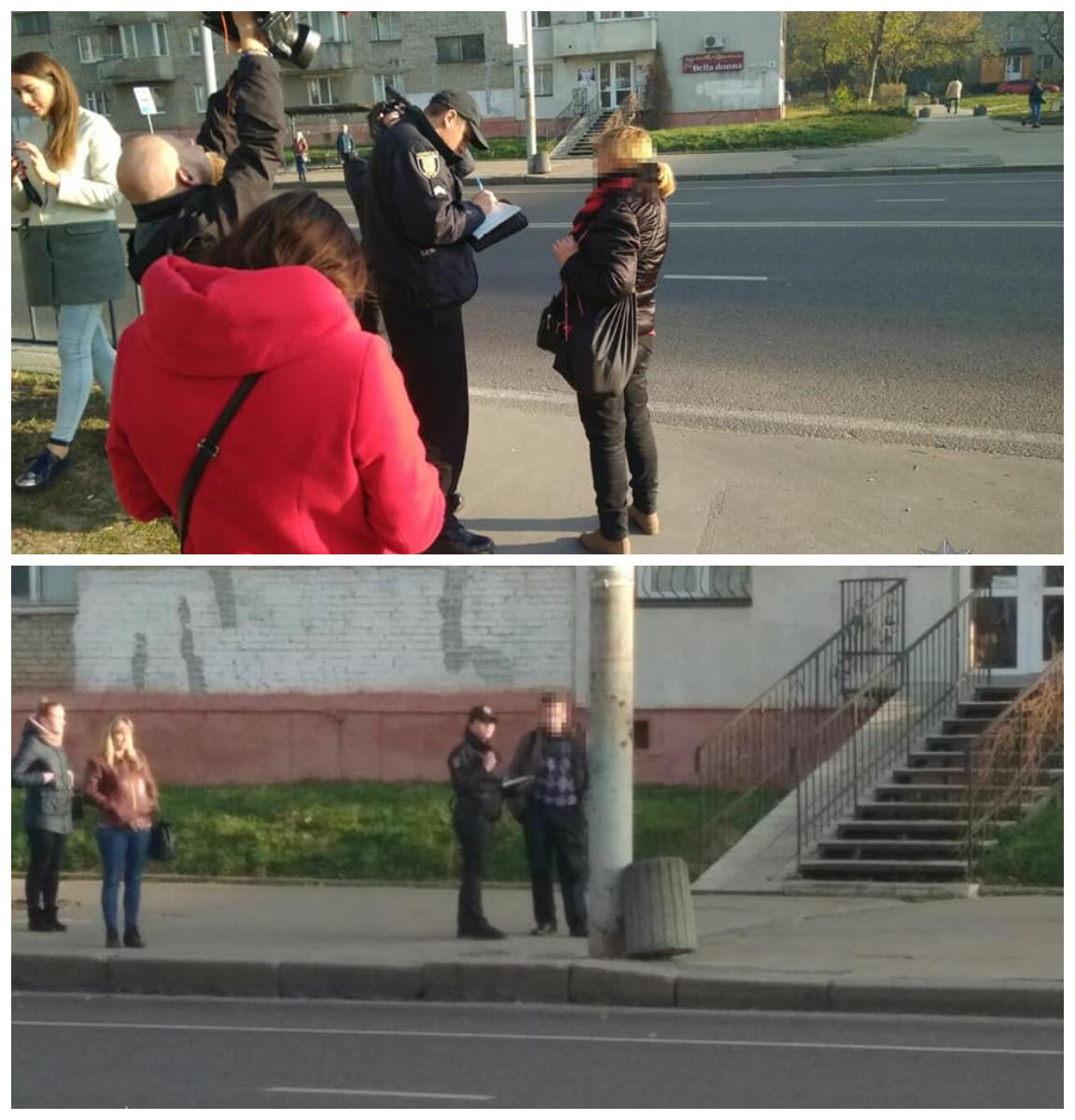 Патрульные объяснили пешеходам их права и обязанности, как полноценным участникам дорожного движения