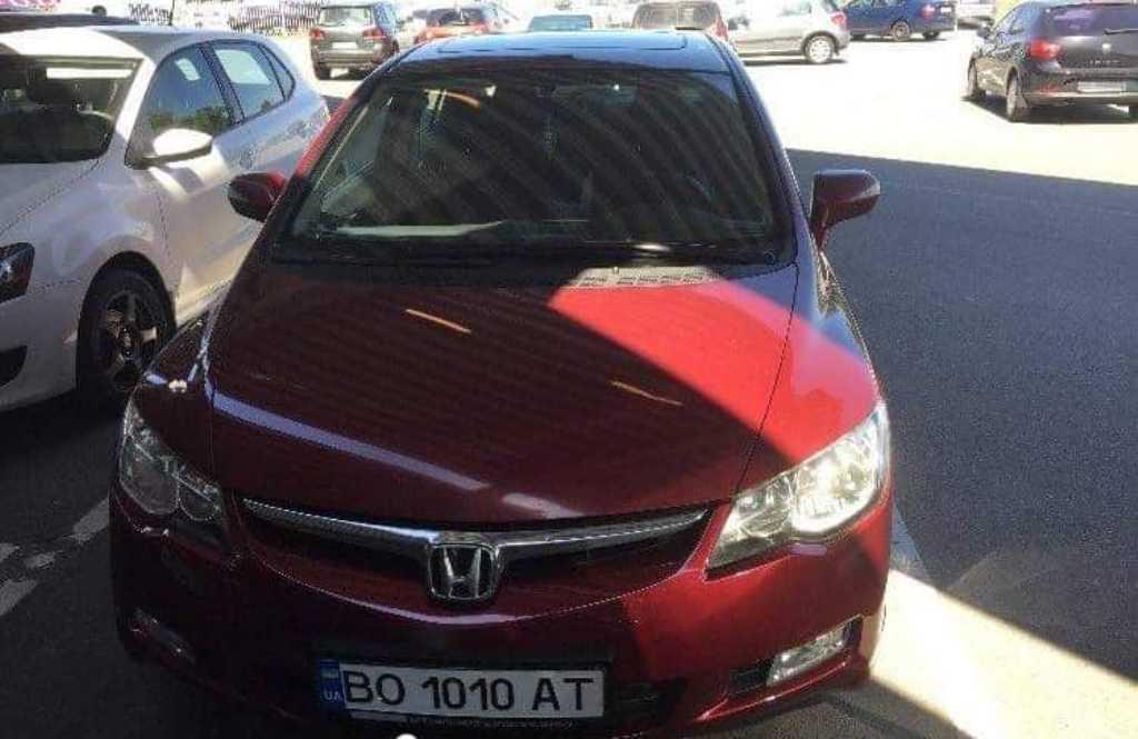 В Киеве угнали Honda Civic
