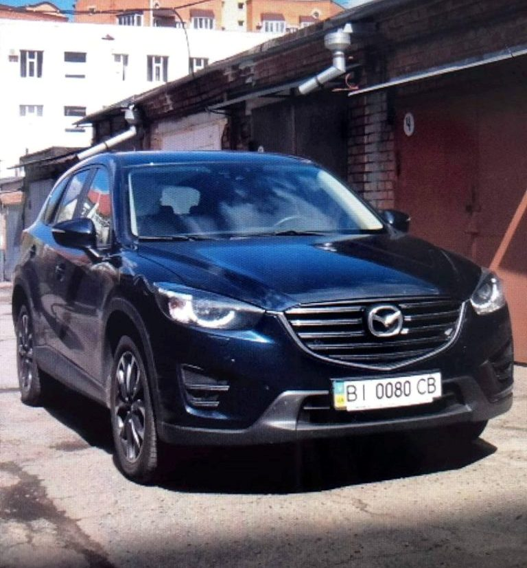 В Киеве угнали Mazda СХ-5