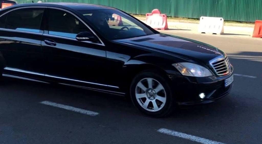 В Киеве угнали Mercedes S500