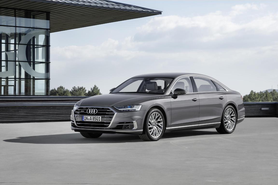 Audi A8, на базе которой должна появится S8