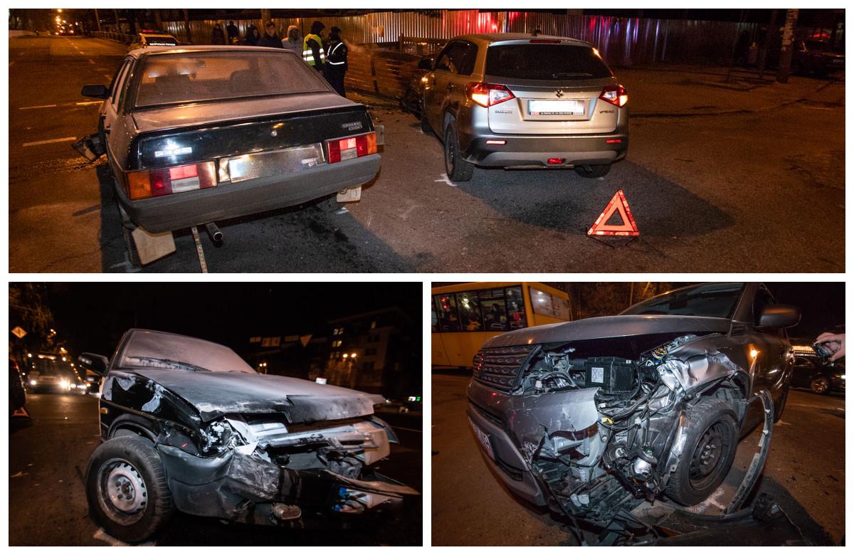 В результате столкновения оба автомобиля получили механические повреждения.