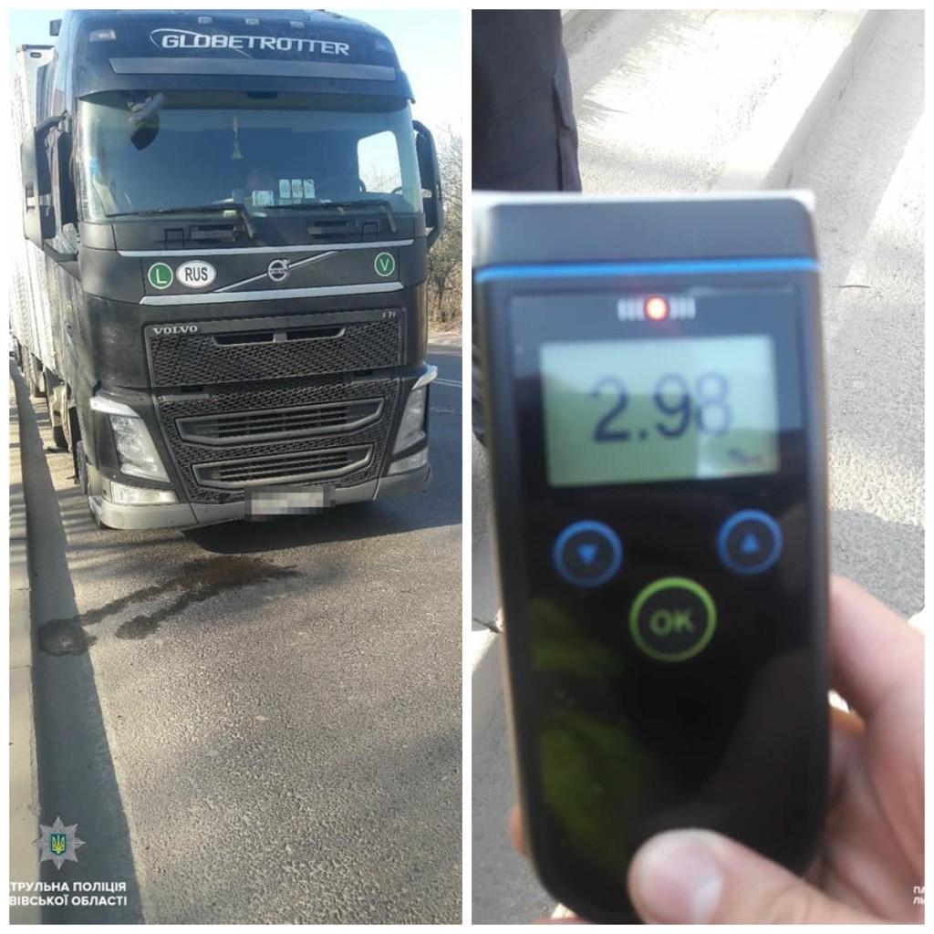 Водитель-иностранец совершил два ДТП во Львове