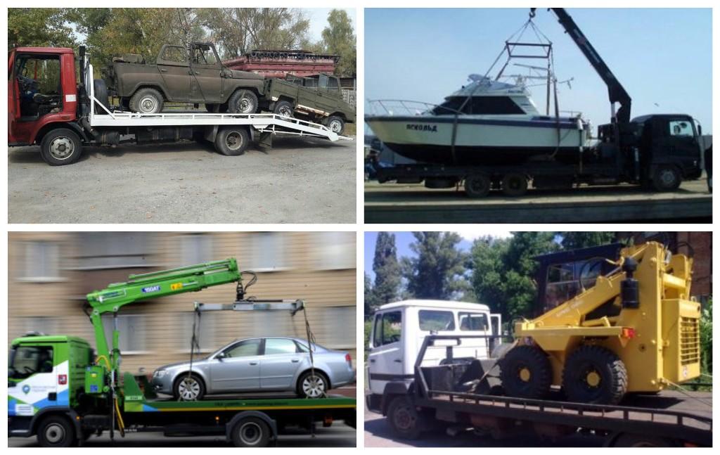 Транспортировка грузов до 5 тонн