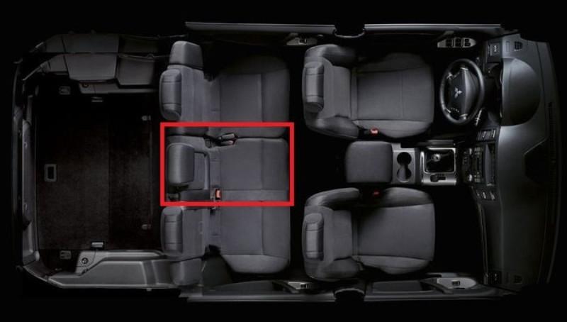 Самое безопасное место в автомобиле