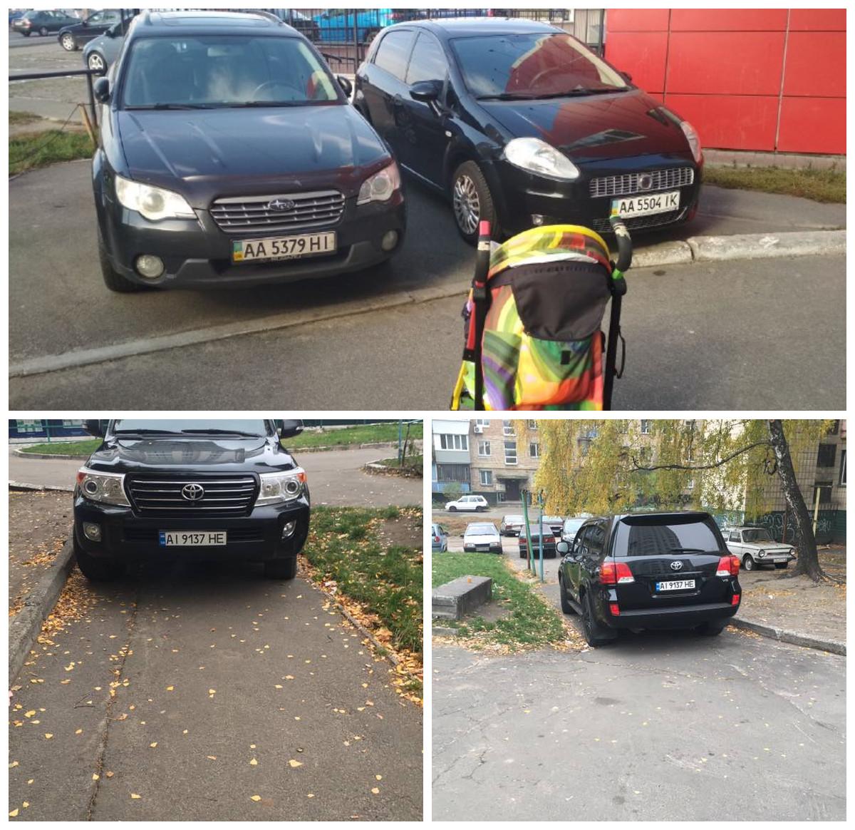 """Эти """"гении парковки"""" видимо не подозревают о существовании пешеходов"""