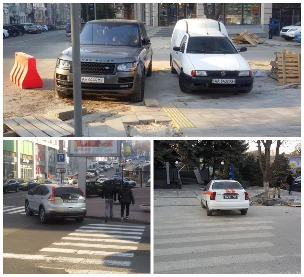 """Припарковались на """"зебре"""", позабыв о пешеходах"""