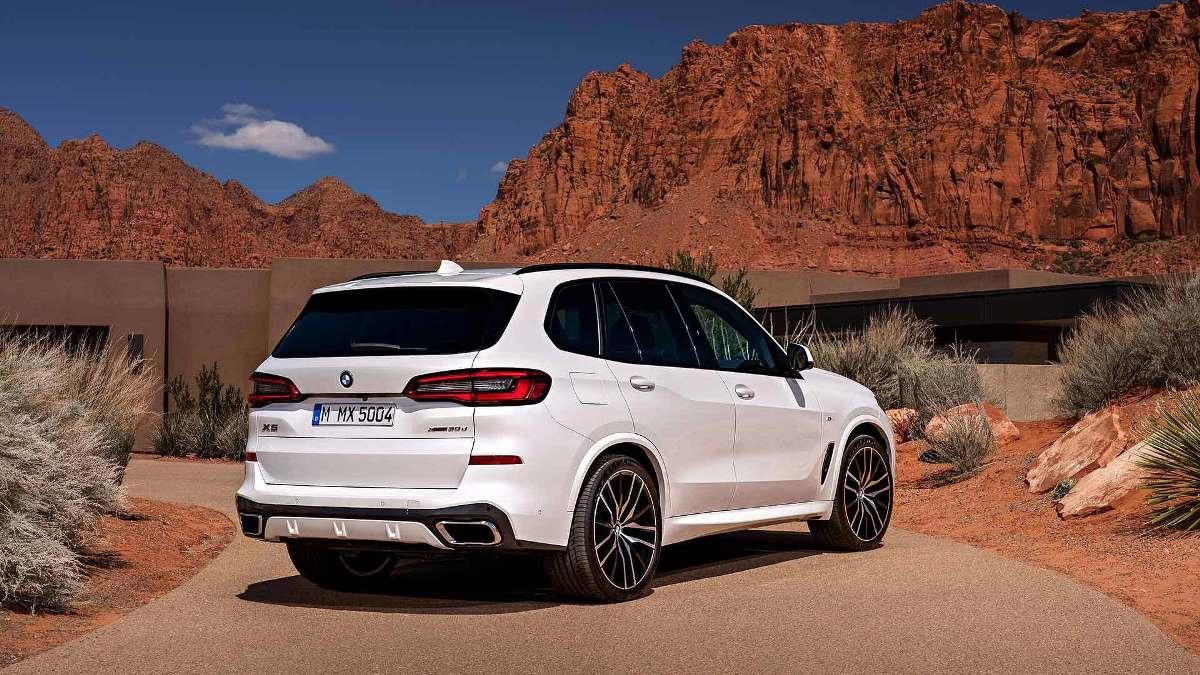 BMW X5 впервые получит 22 дюймовые диски