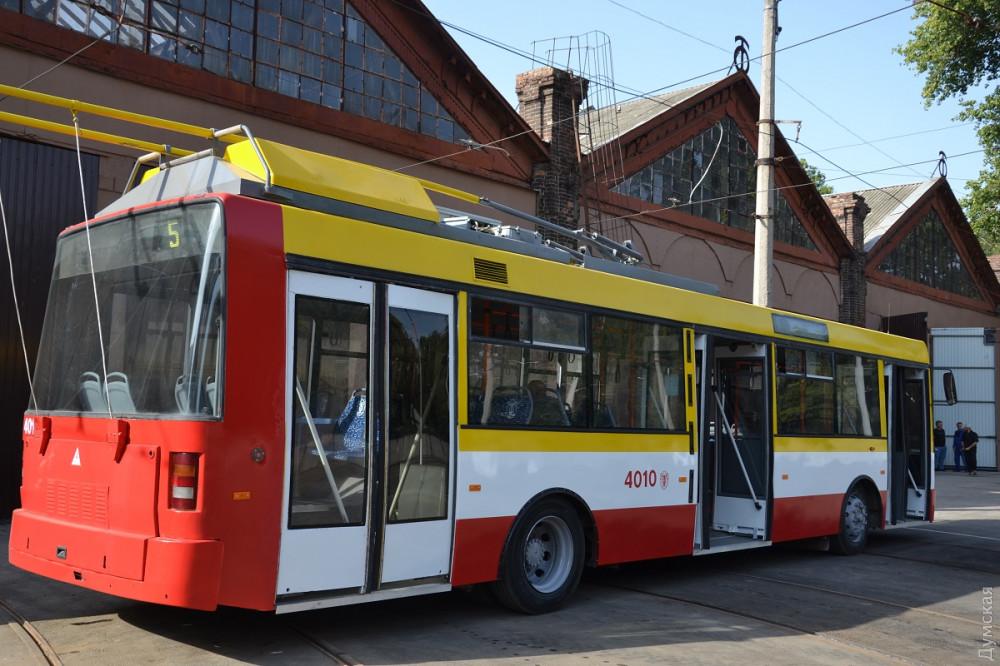 Электробус был создан на основе троллейбуса Skoda 21