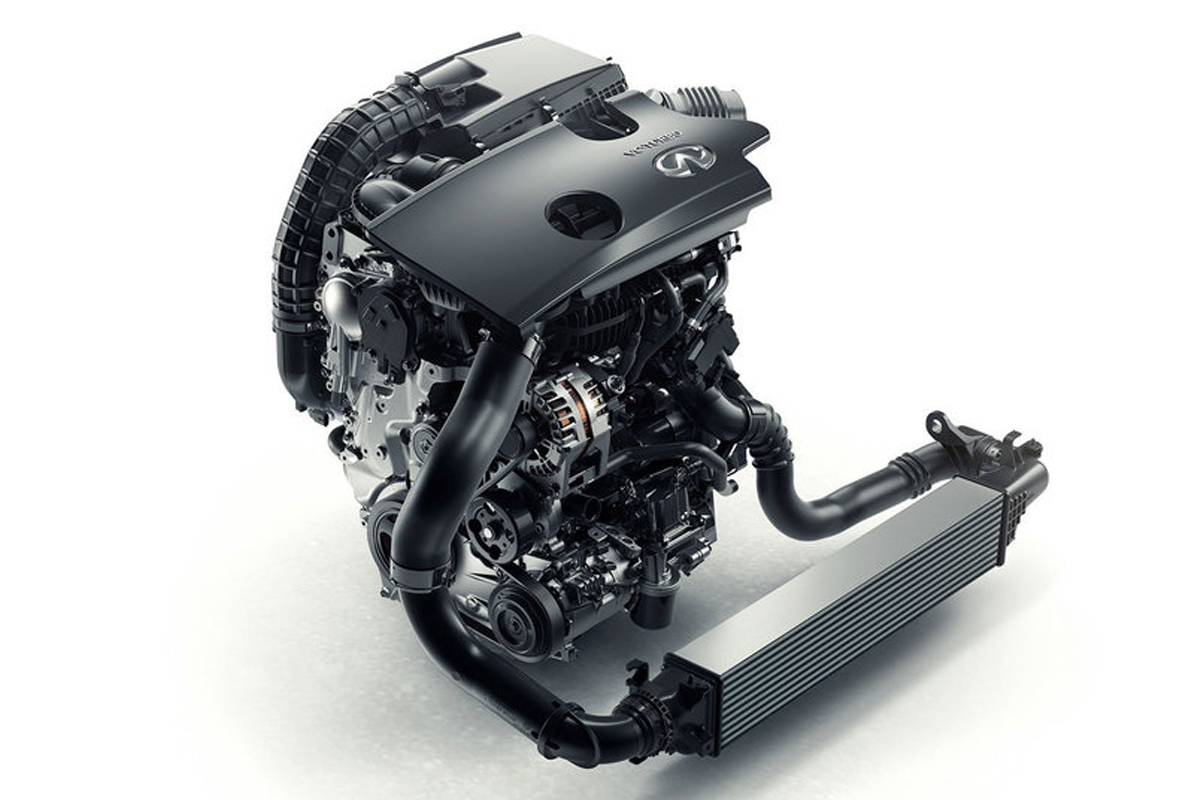 QX50 Variable Compression Turbo Engine от Infiniti