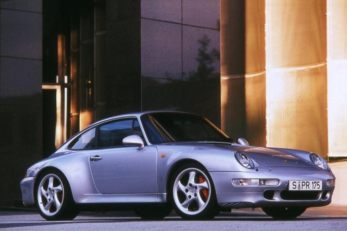 Моторы Porsche с воздушным охлаждением