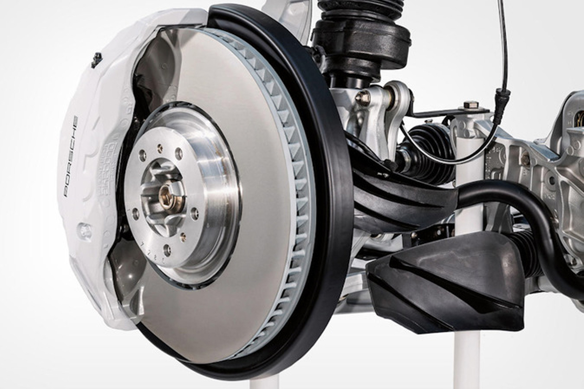 Тормоза Porsche Surface Coated Brake