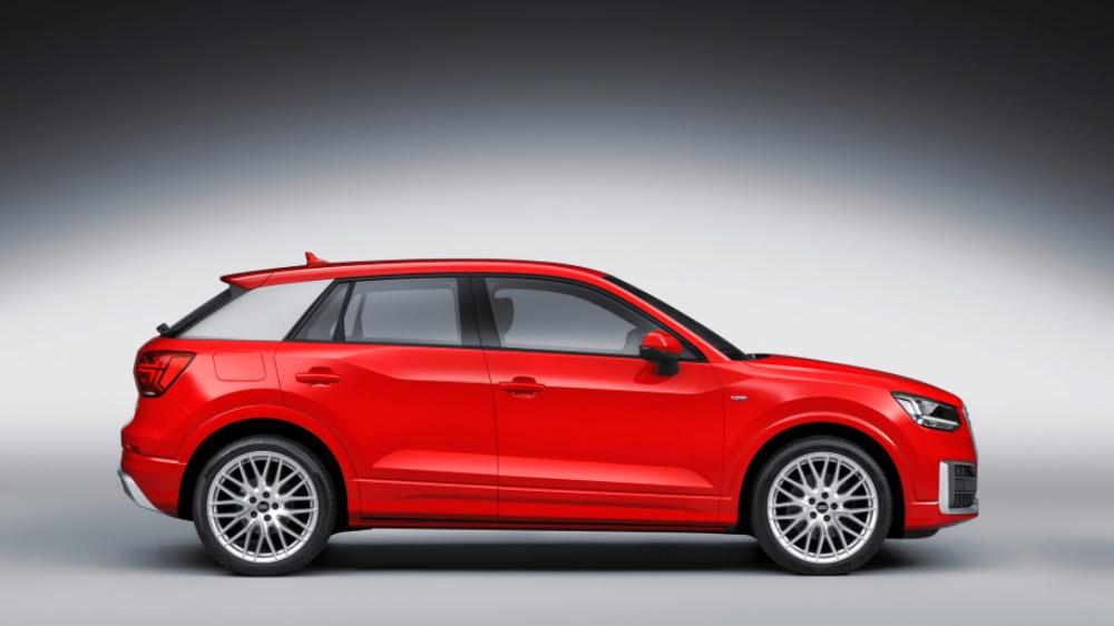 Электрокроссовер Audi