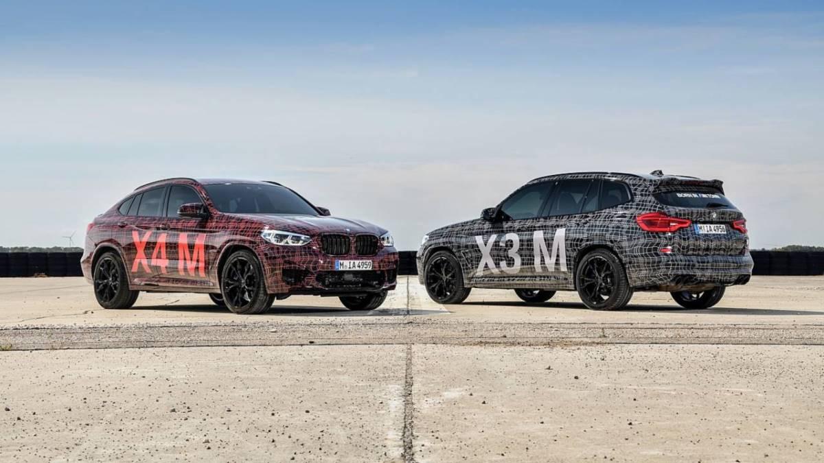 BMW X3M и BMW X4M