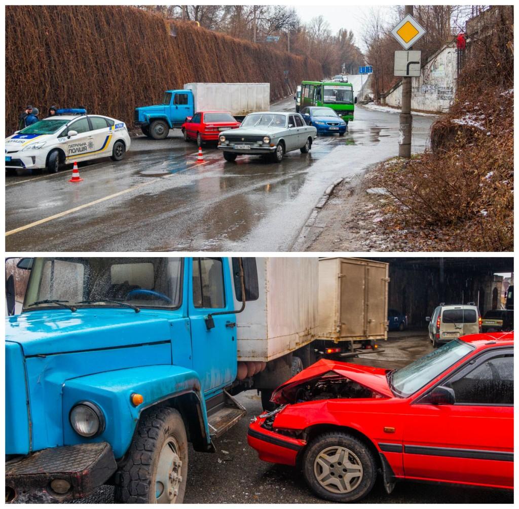 В результате ДТП пострадала пассажир Mazda