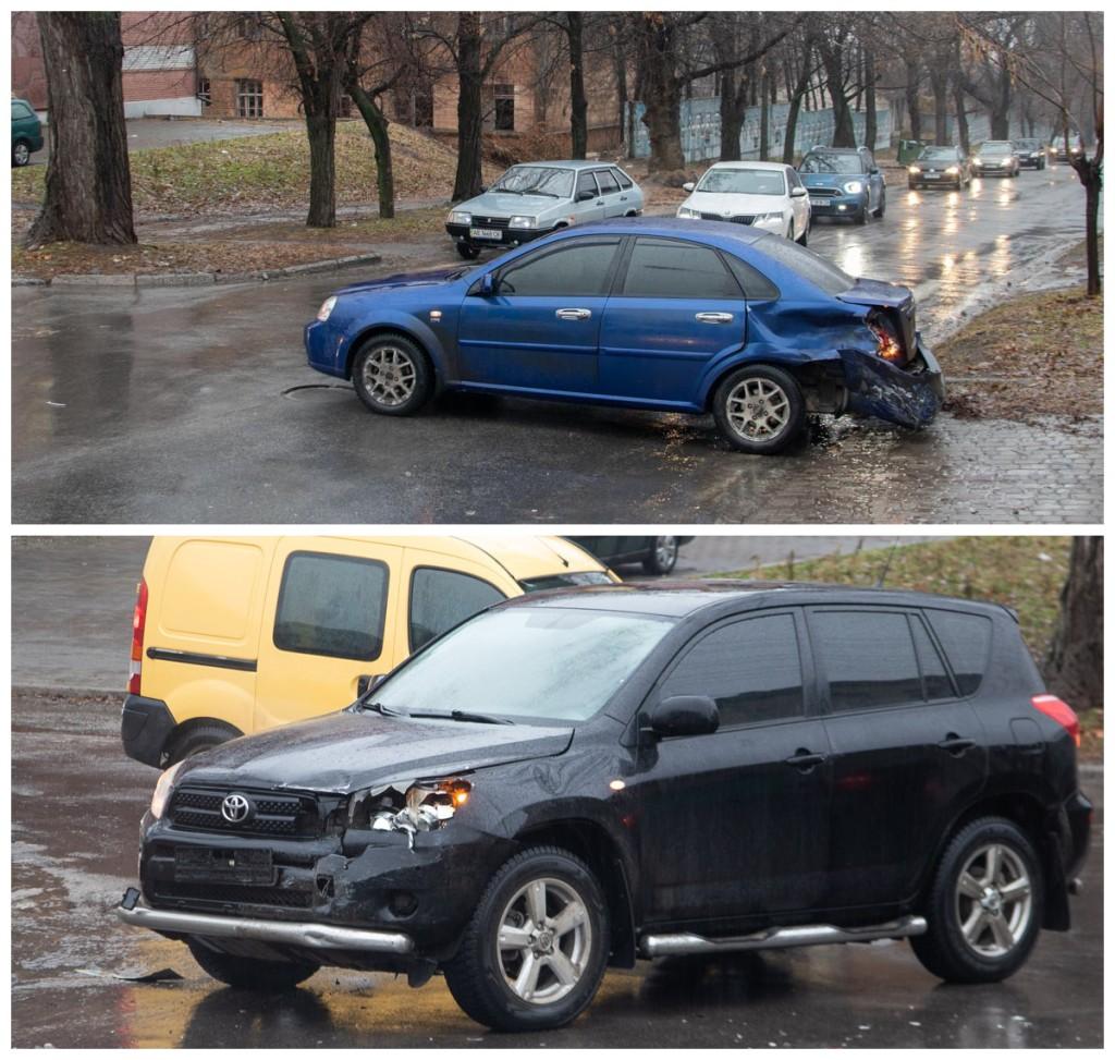 Водитель Chevrolet не уступил дорогу и спровоцировал ДТП
