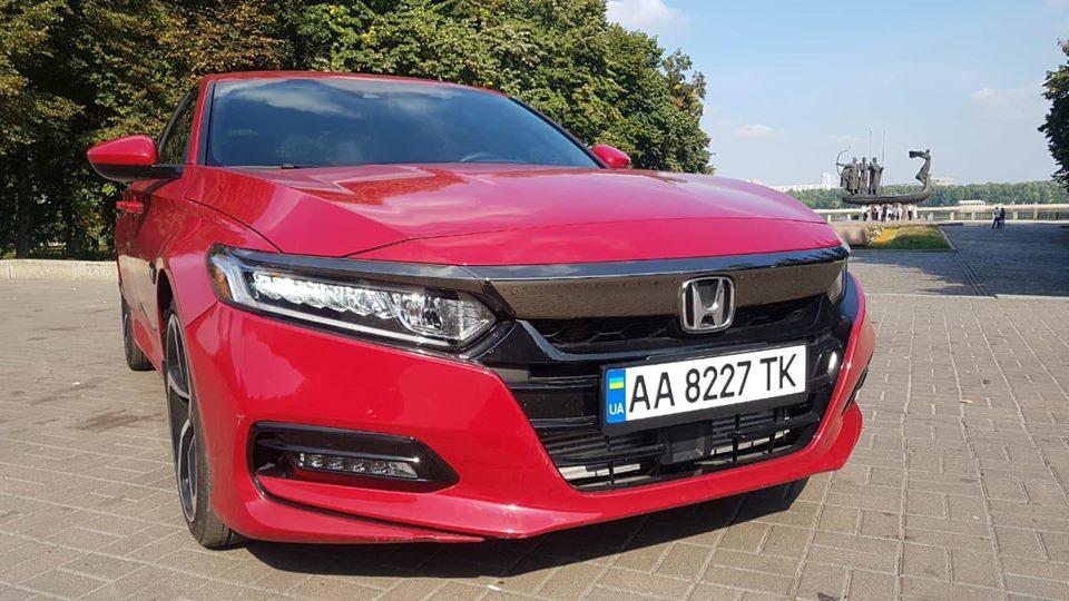 Угнанная Honda Аccord