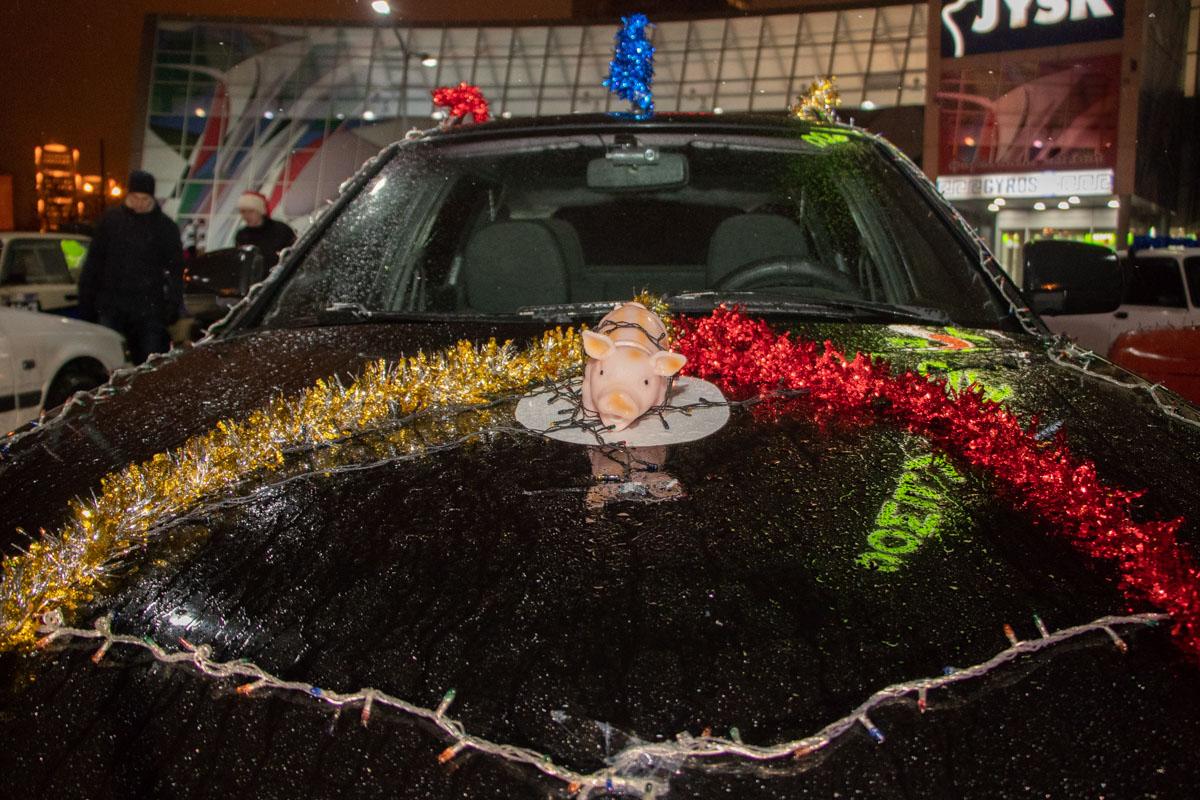 Принять в нем участие мог любой житель Днепра при наличии автомобиля