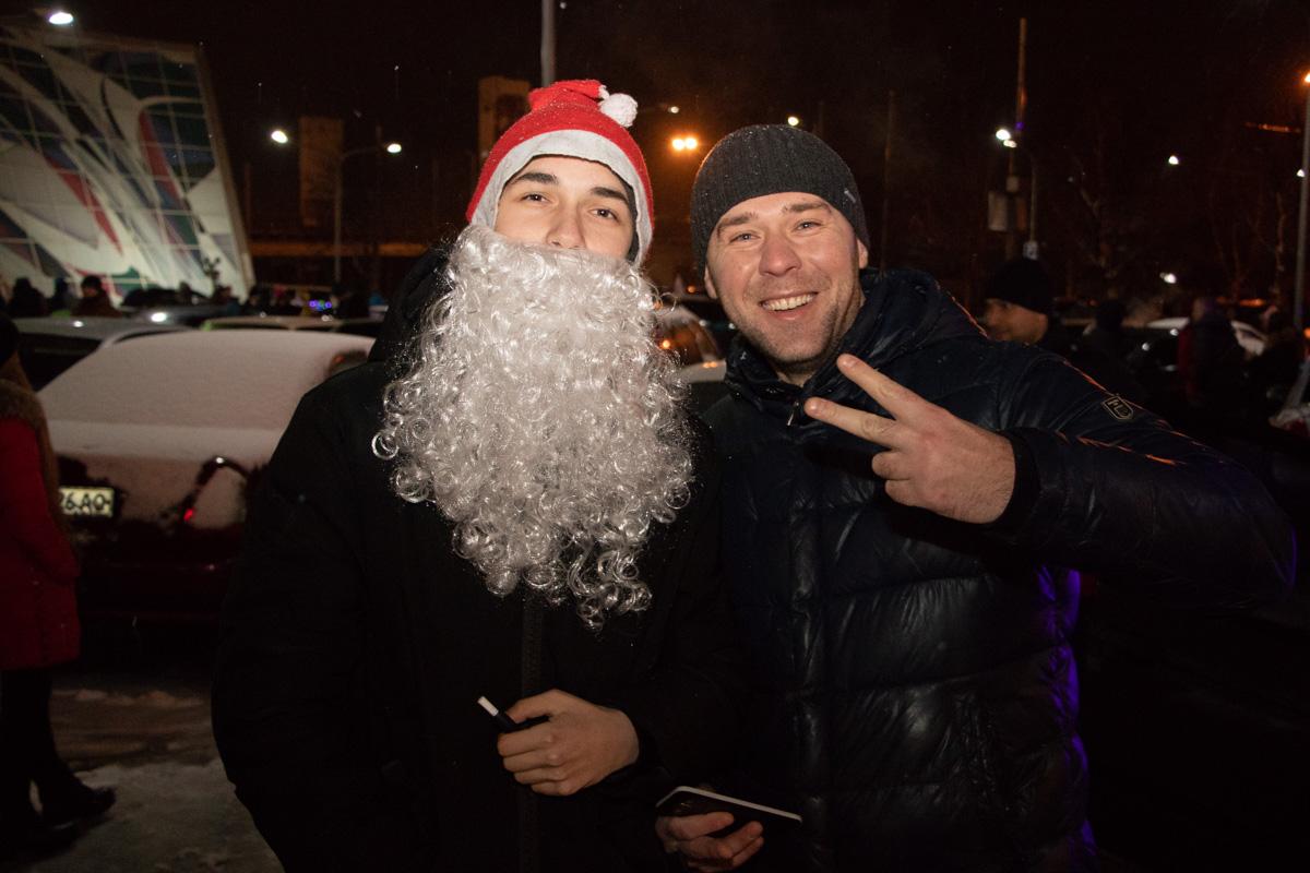 Мероприятие посетил Дед Мороз