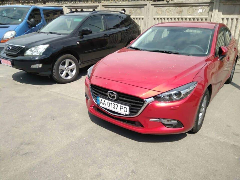 Угнанная Mazda 3