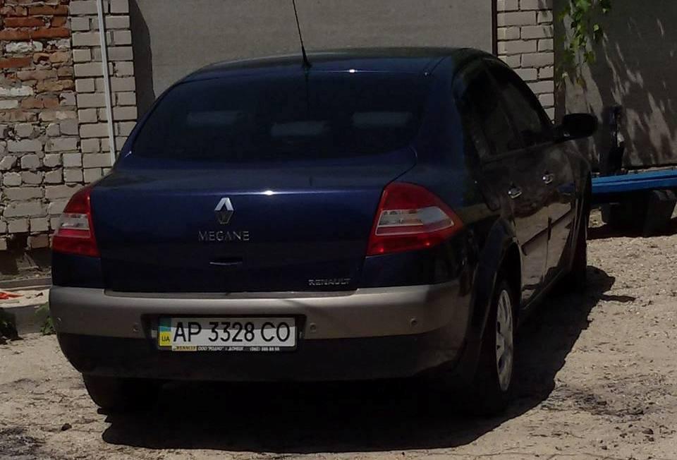 Угнанная Renault Megane 2
