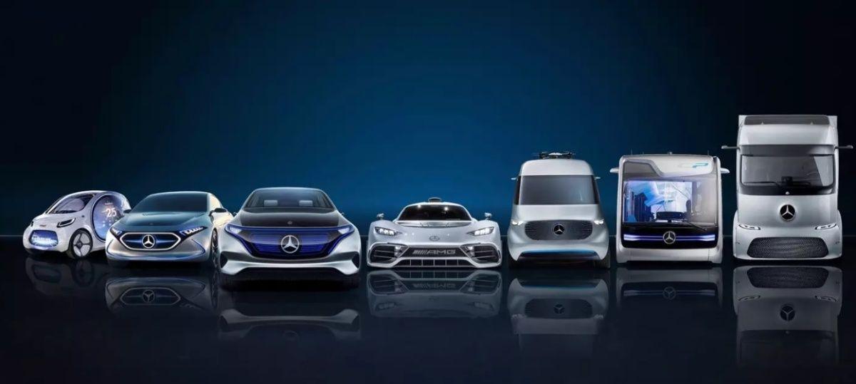 Электрокары Mercedes
