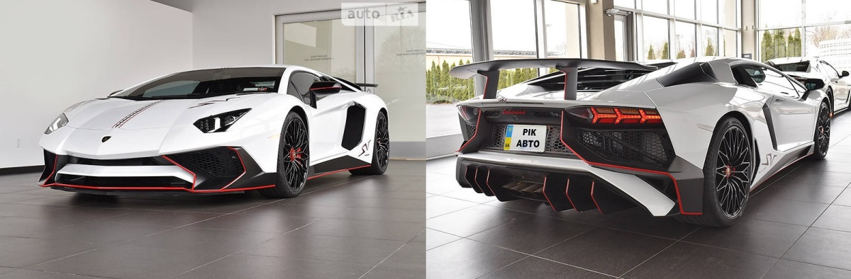Lamborghini Aventador LP 750-4 SV 2018