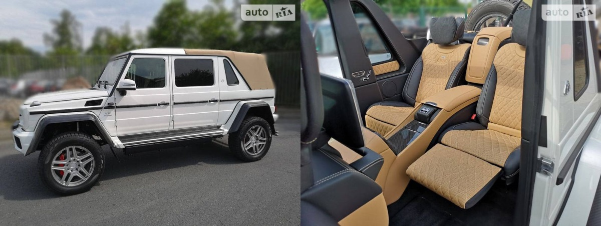 Maybach landaulet G650 PICK UP 2018