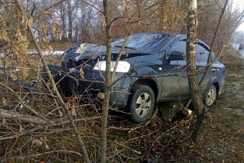 Водитель автомобиля не пострадал