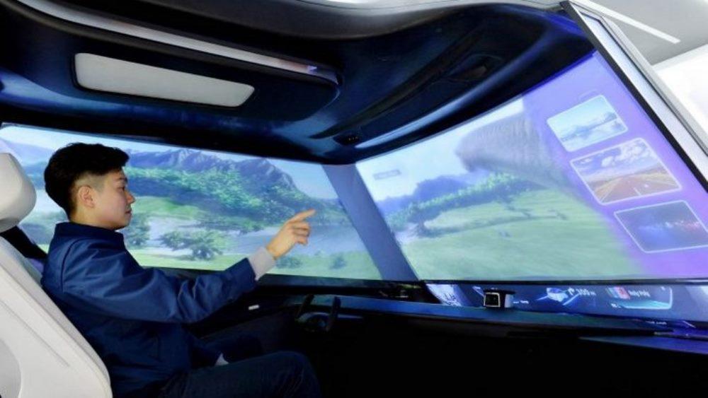 Лобовое будущего от Hyundai