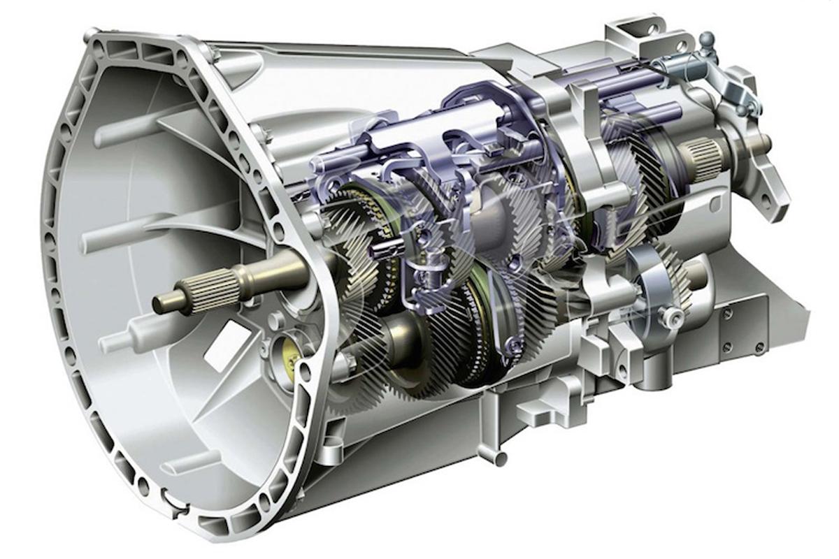 Трансмиссия передает момент вращения от мотора к колесам