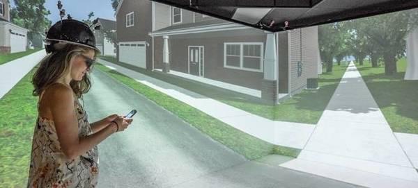 Эксперимент со смартфоном на дороге