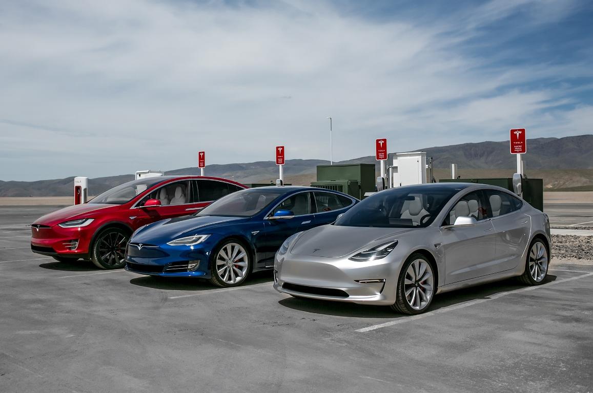 Электрокары Tesla