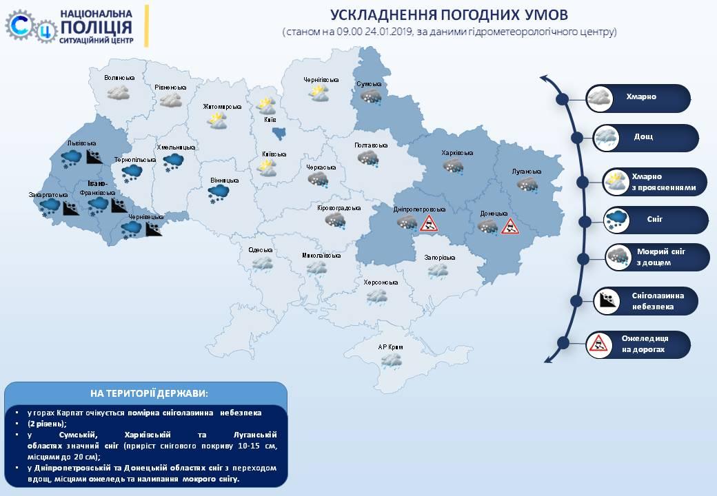 На дорогах Украины сняли все ограничения