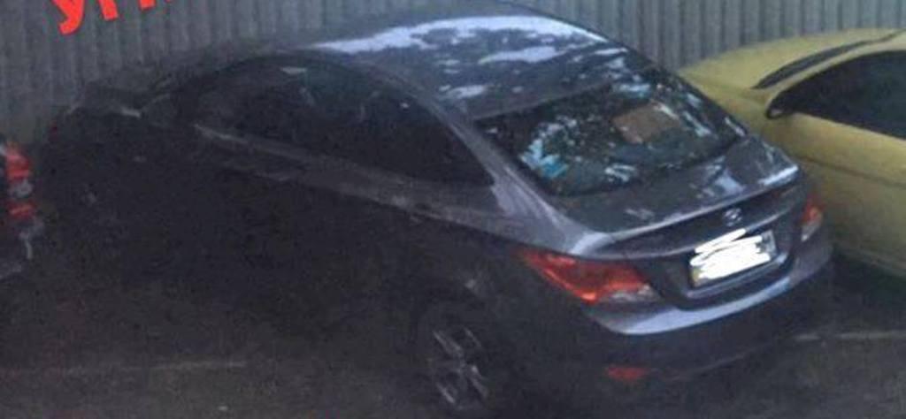 Угнанный Hyundai Accent