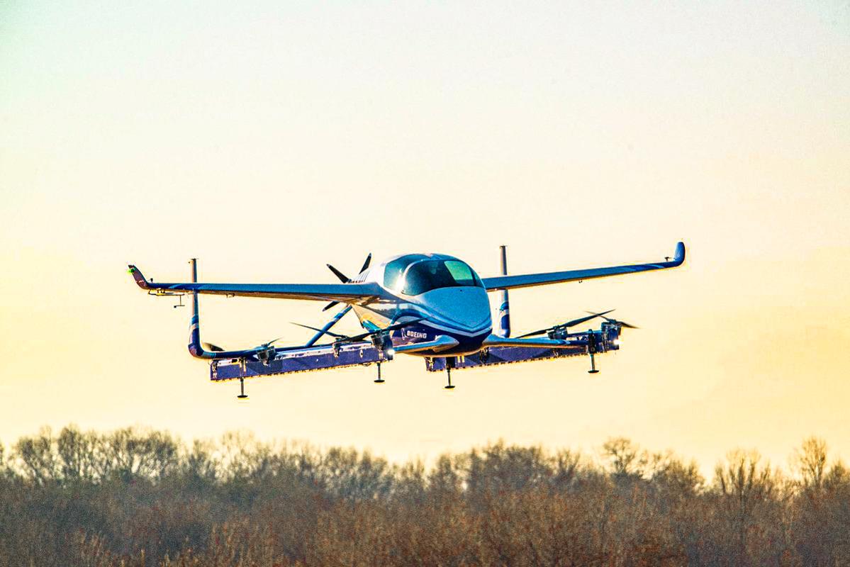 Летающее такси от Boeing