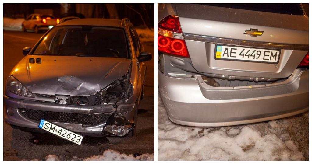 Авария произошла из-за того, что водитель автомобиля Peugeot не уступил дорогу