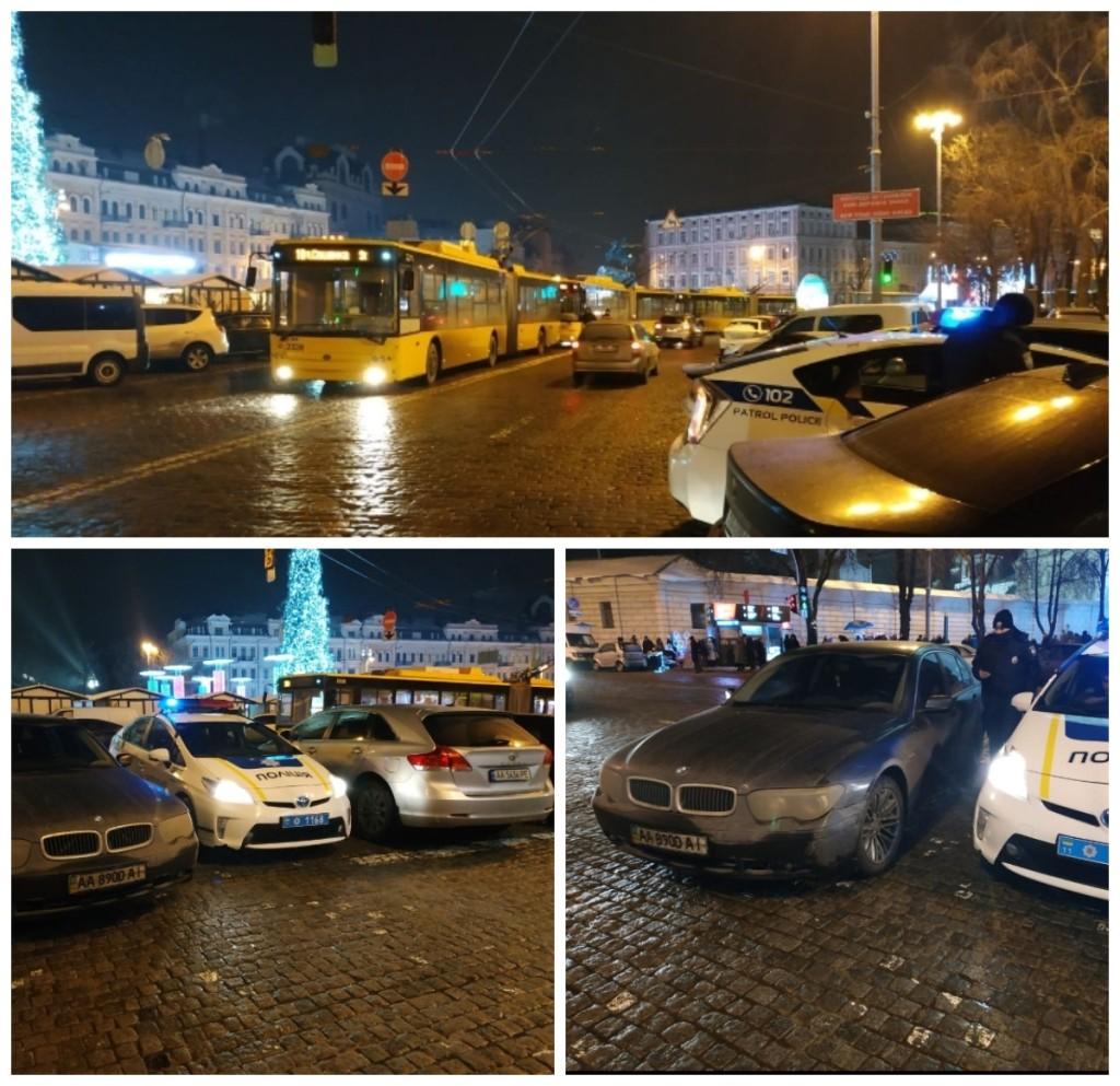 Заблокировали движение троллейбусов