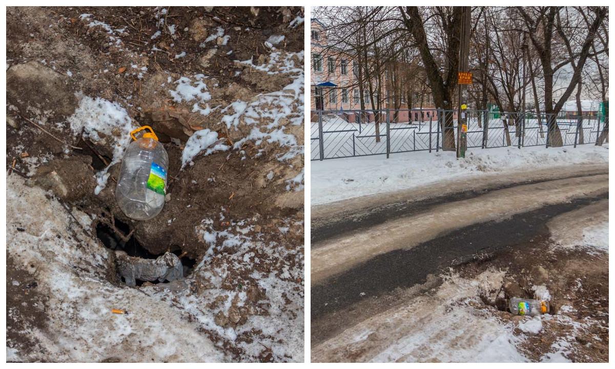 Улица Галицкого, 52 (возле СШ №91)