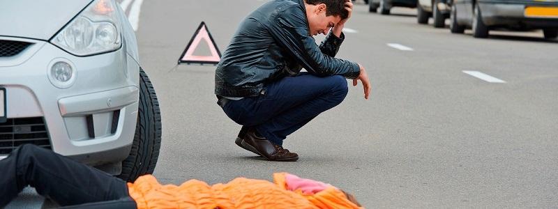 Порядок действий пешехода которого сбили