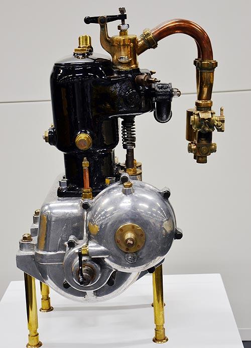 Первый 2-цилиндровый мотор