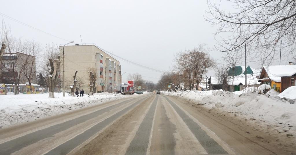 Снежные колеи