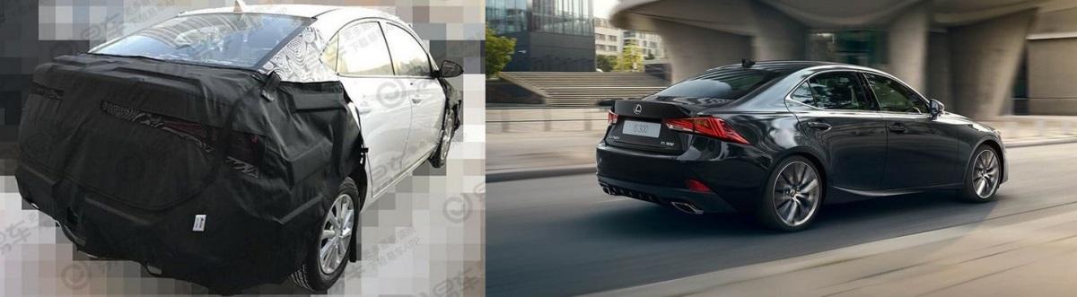 Оптика нового Accent уж больно напоминает Lexus IS