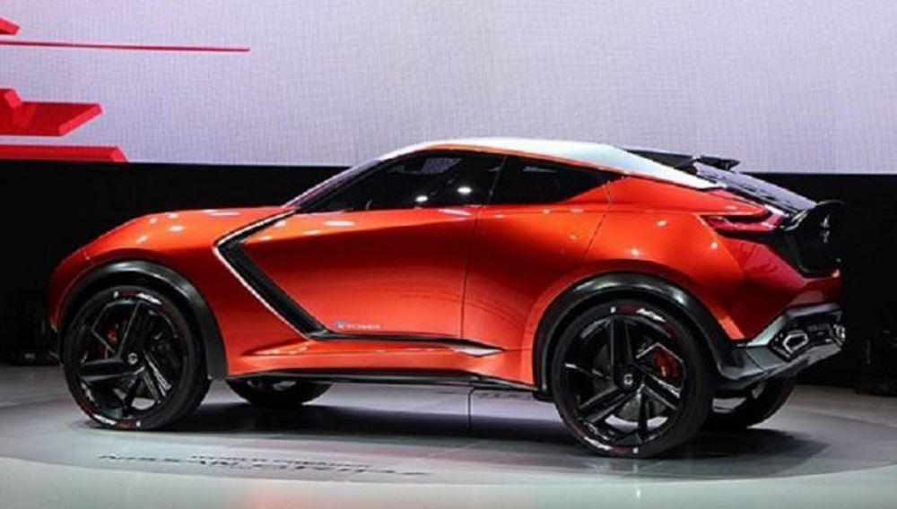 Новый Nissan Juke едет в Женеву