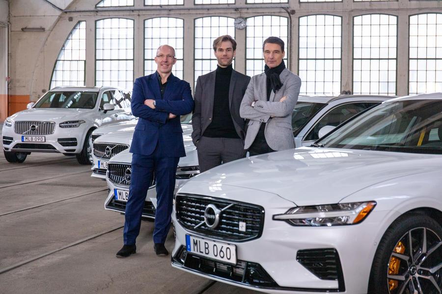 Команда дизайнеров Volvo