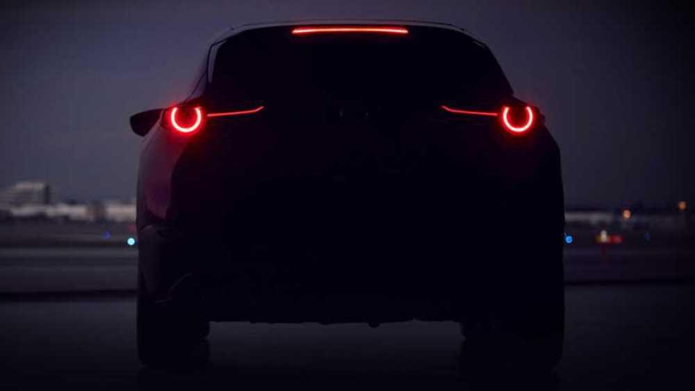 Тизер новой Mazda